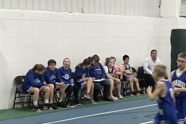 Basketball & Cheerleaders